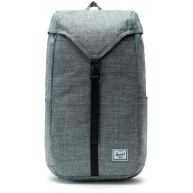 Herschel Thompson Rucksack raven crosshatch